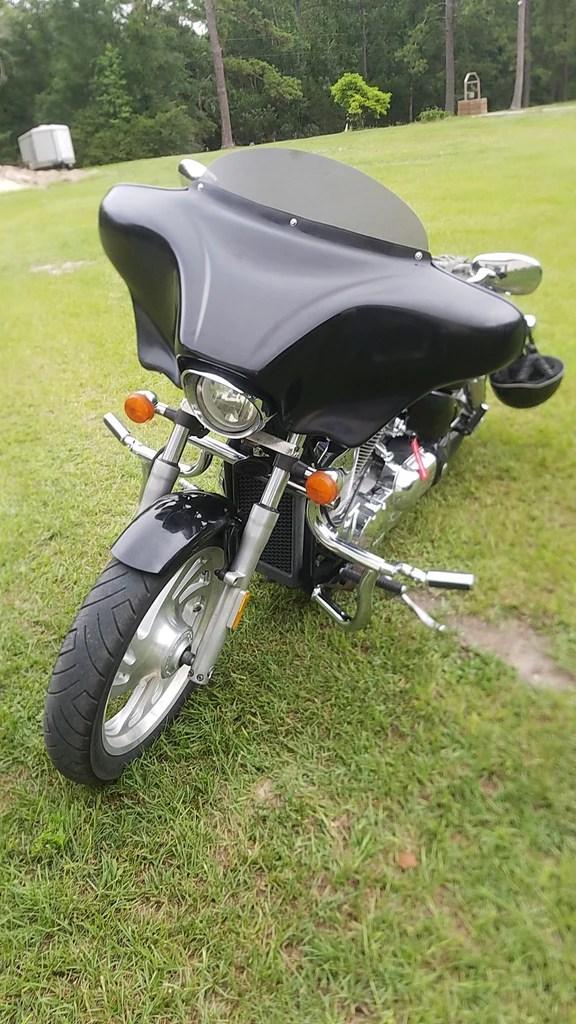 Honda Vtx 1300 Batwing Fairing : honda, batwing, fairing, HONDA, BATWING, FAIRING, WINDSHIELD, BAGGER, Talon, Billets