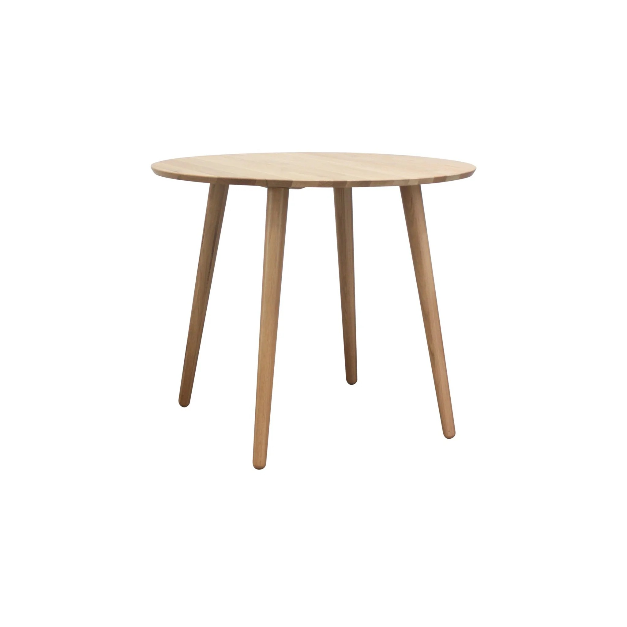 agnes round dining table 90cm natural
