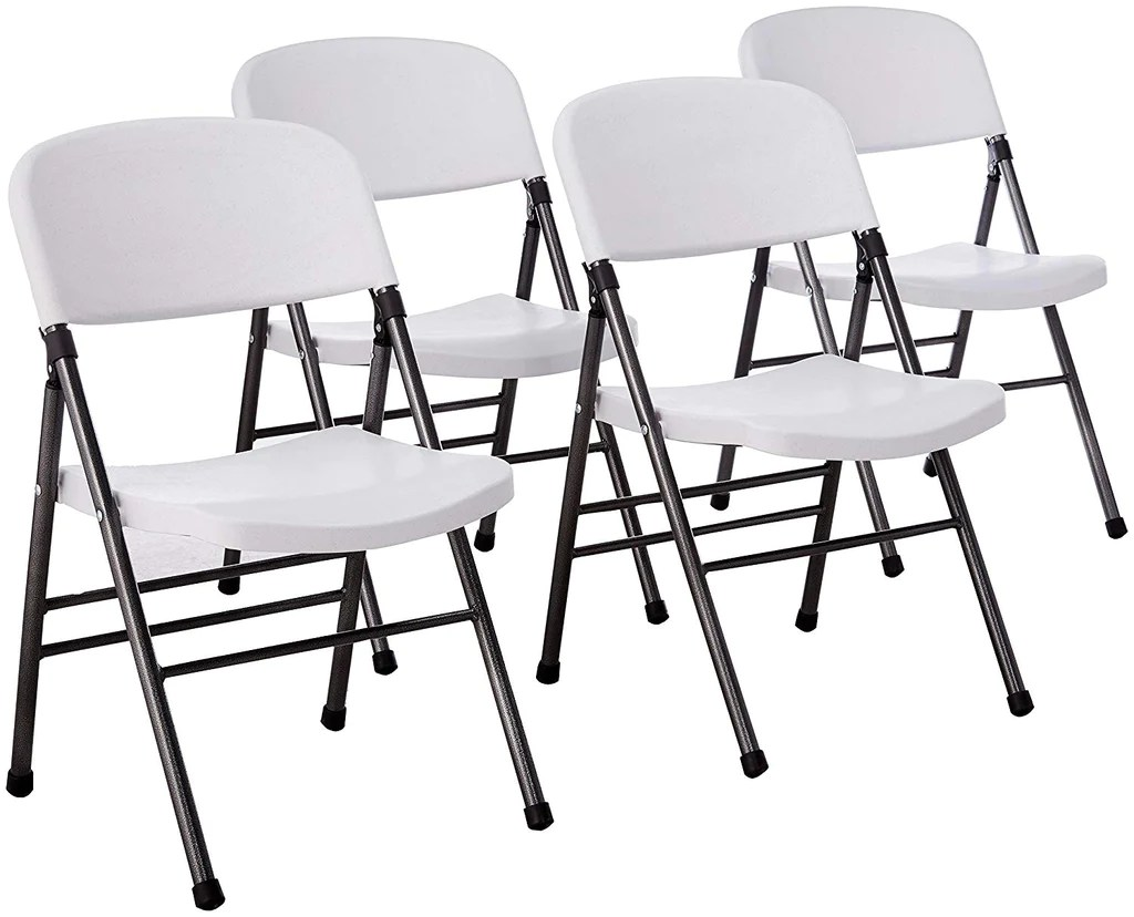 Cosco Folding Chair Pack Of 4 Cosco Resin Folding Chairs