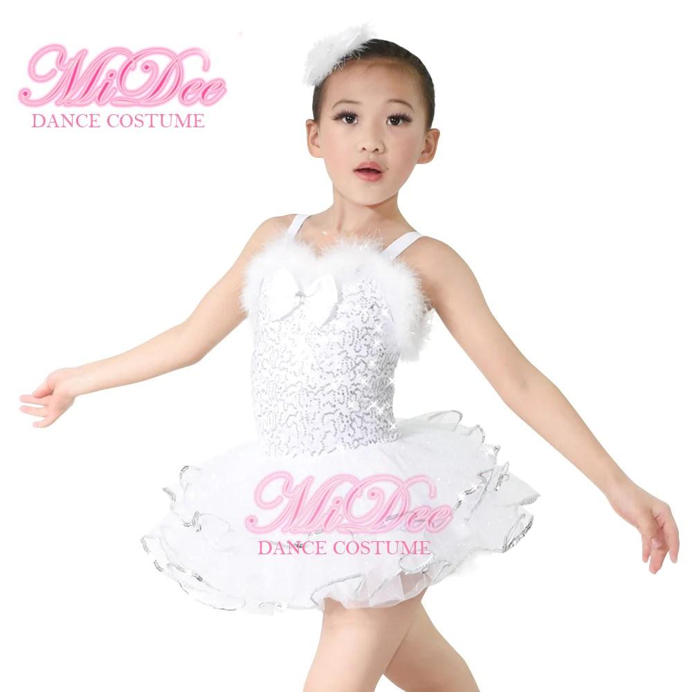 midee white ballet tutu