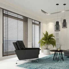 Blinds For Living Room Wall Colors Rooms 5 Window Influenced By New York City Hut Vertical Are Ideal Large Walls Of Glass As They Can Be Stacked Back To Give Unrestricted Views Across The However When Closed