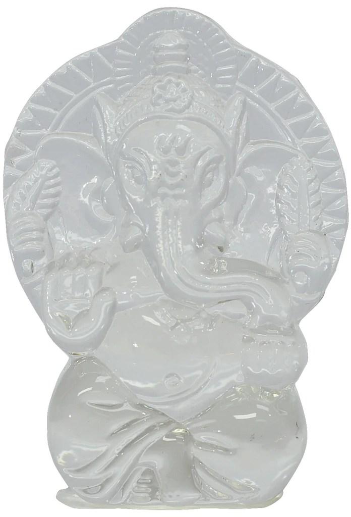 crystal ganesh idol