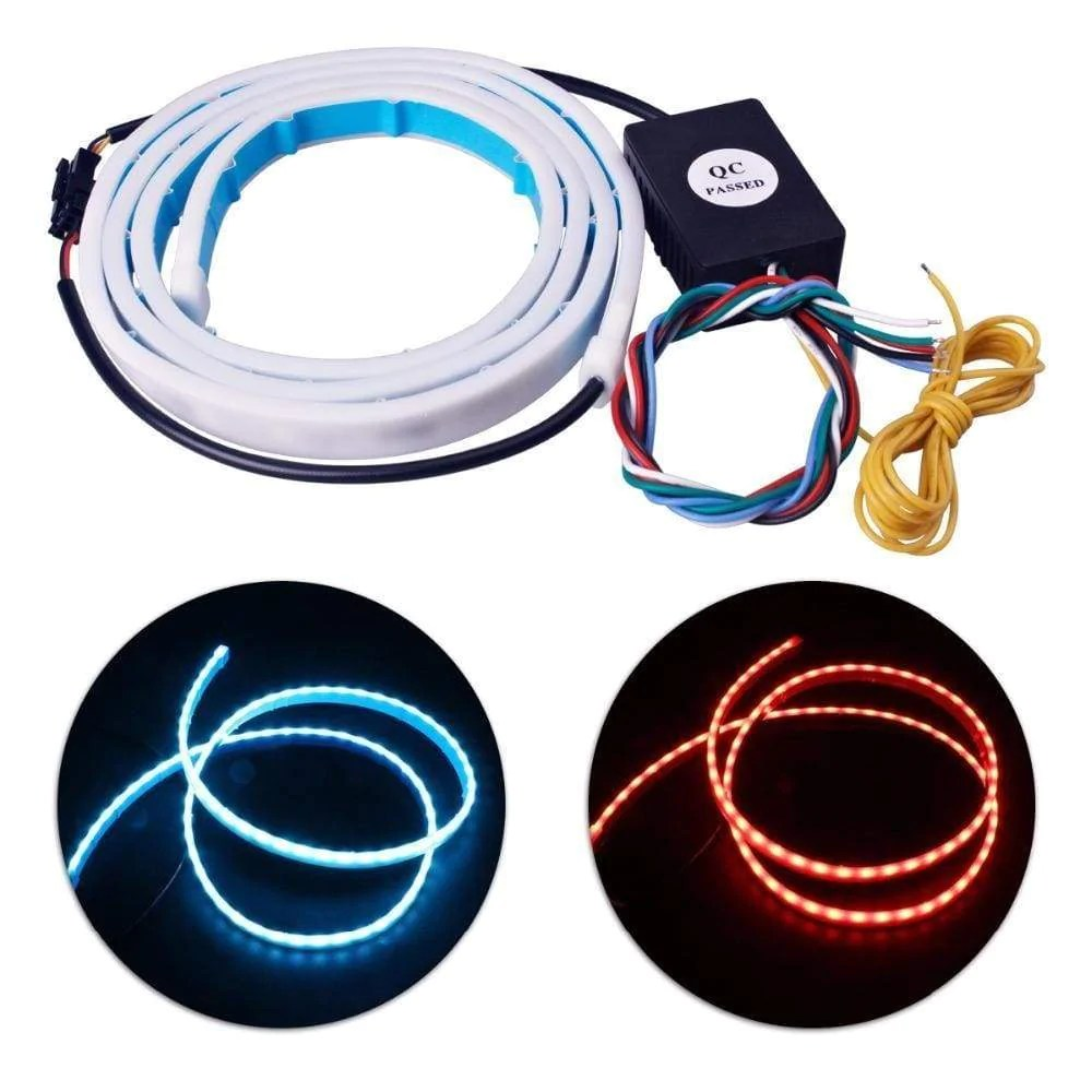 hight resolution of flow led strip trunk light car lighting district