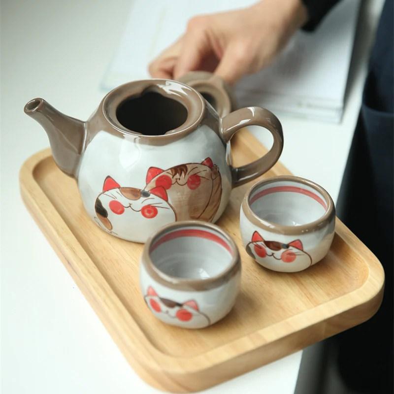 japanese teapots cute cartoon