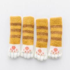Crochet Christmas Chair Covers Desk Posture Pet Paw Furniture Leg Set Of 4 Gift Ideas