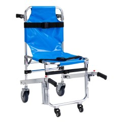 Ems Stair Chair Stapleford Ergonomic Executive Line2design Evacuation 4 Wheel Lift With Patient Restraints Straps Grip Handles