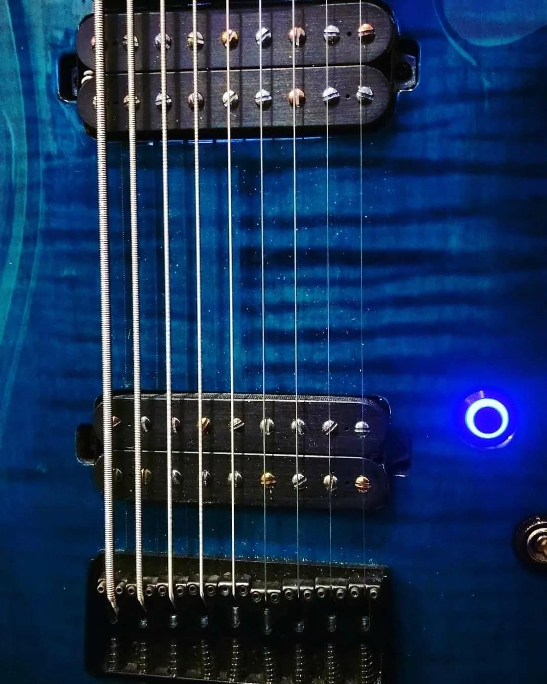 black stealth led guitar killswitch [ 1080 x 1350 Pixel ]