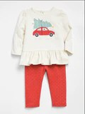 Gap Car Peplum Legging Set