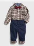 Gap Holiday Outfit Set Baby Boy