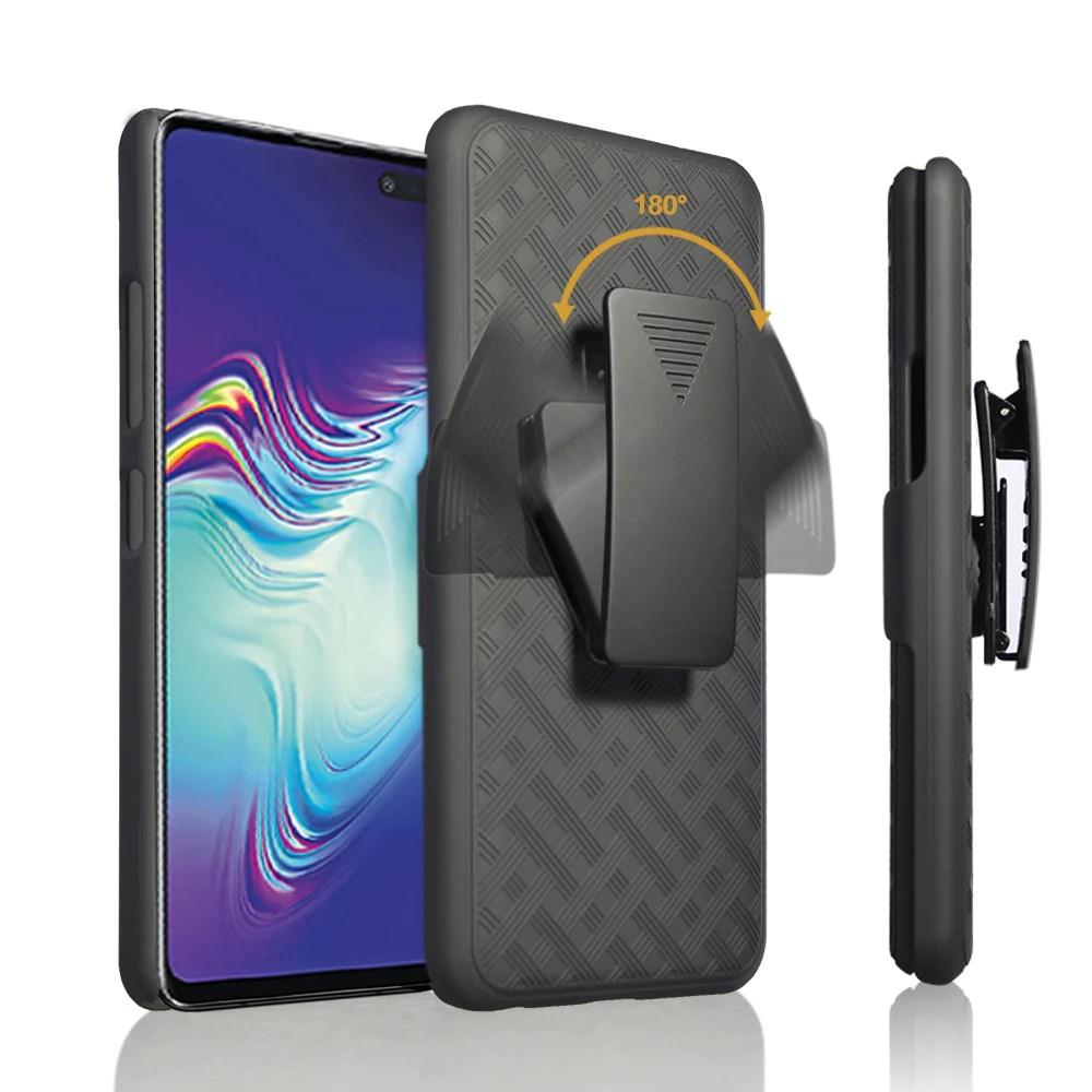 Samsung Galaxy S10 5G Case.SMG977U Case. Rugged Slim Rotating Swivel L – Coverlab