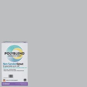 polyblend non sanded tile grout 115 platinum