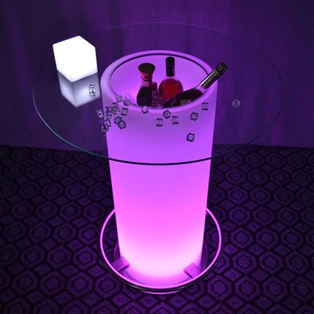 best illuminated party led coffee table