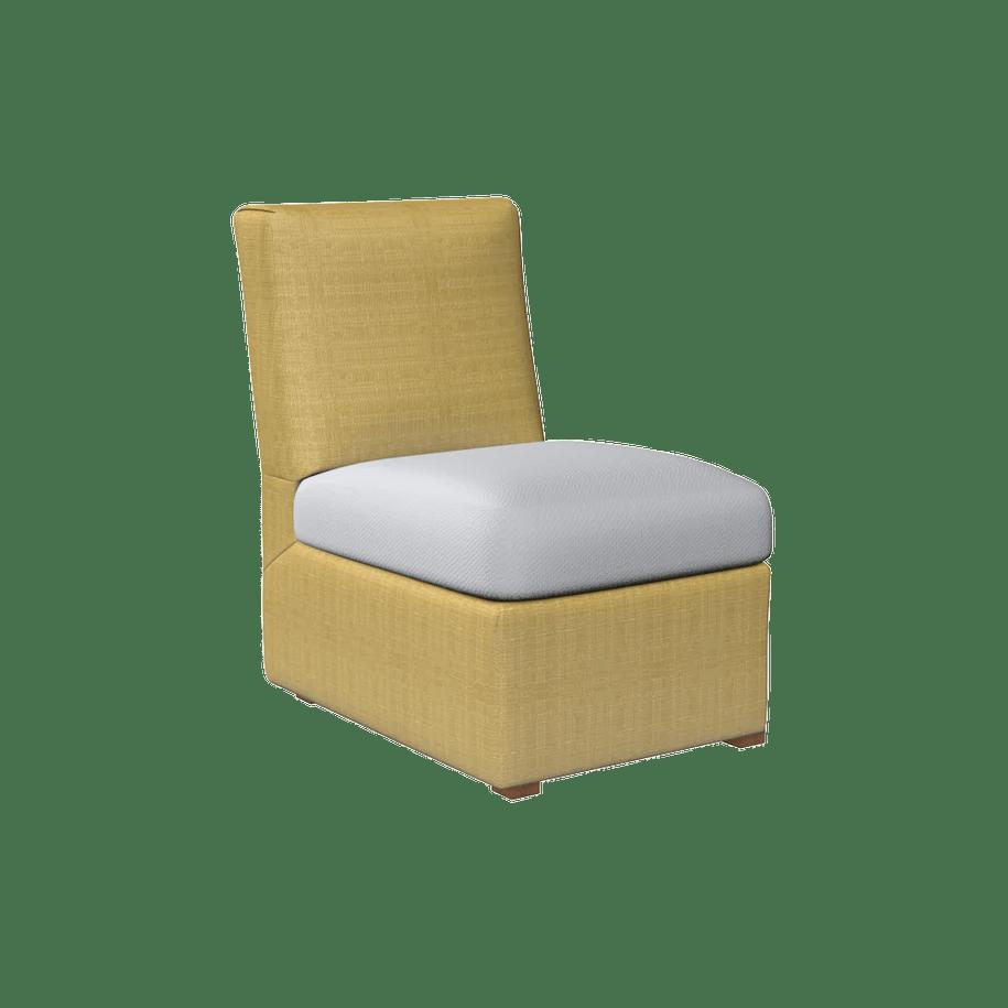 brown slipper chair big fluffy oomph