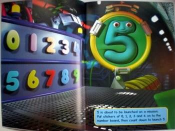 Number Jacks Sticker Scene Book Mummy Martins Toy Box