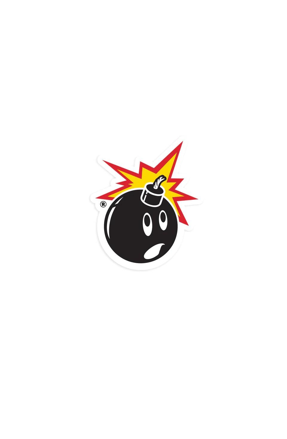 mini adam bomb sticker
