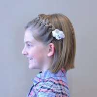 hair tutorial: short hair headband braid - hello shiso