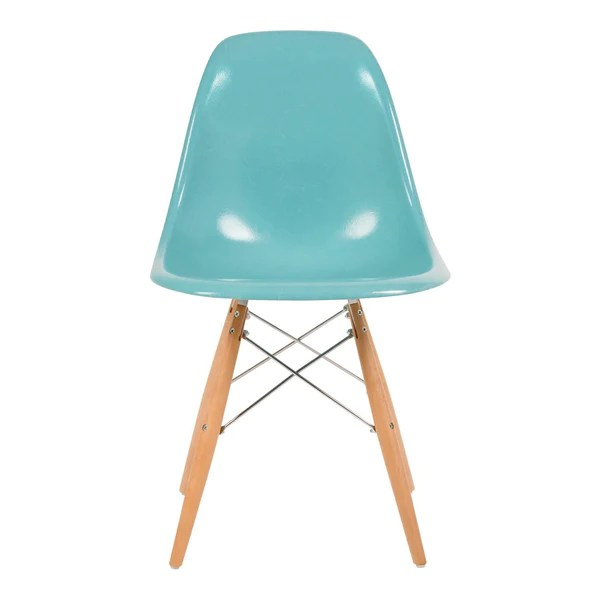 fiberglass shell chair roll arm slipcovers modernica side dowel base design public