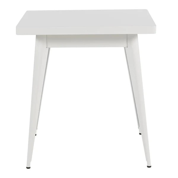 tolix 55 dining table square