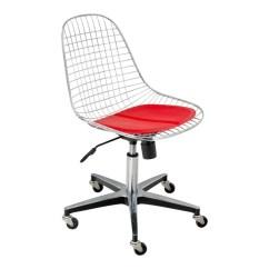 Revolving Chair For Study Margaritaville Adirondack Modernica Case Wire Rolling Base Design Public