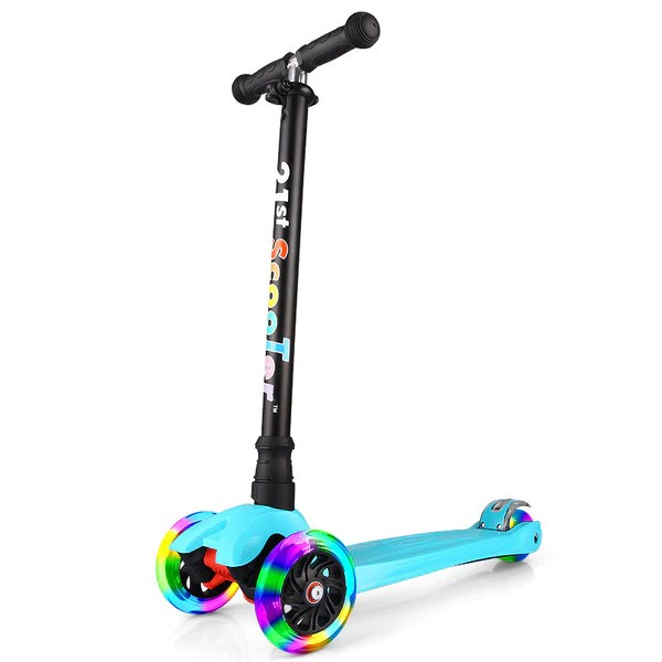 21st Scooter Flash Wheel Children 3 12 Years Outdoor Toys