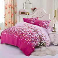 3/4Pcs Bedding-set Family Cotton Bedding Set Bed Sheets ...