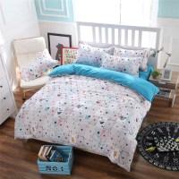 3/4pcs Bedding set Family Cotton Bedding Set Bed Sheets ...