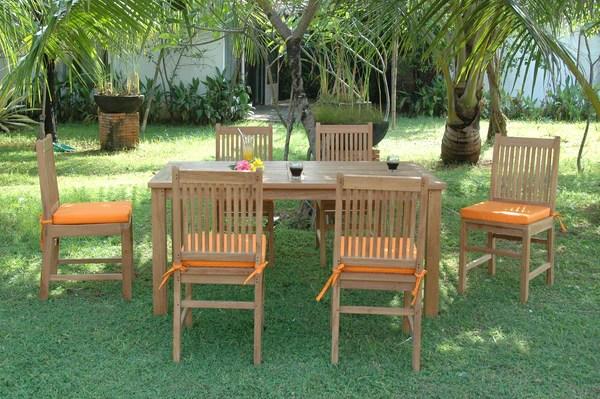 stylish teak patio dining sets