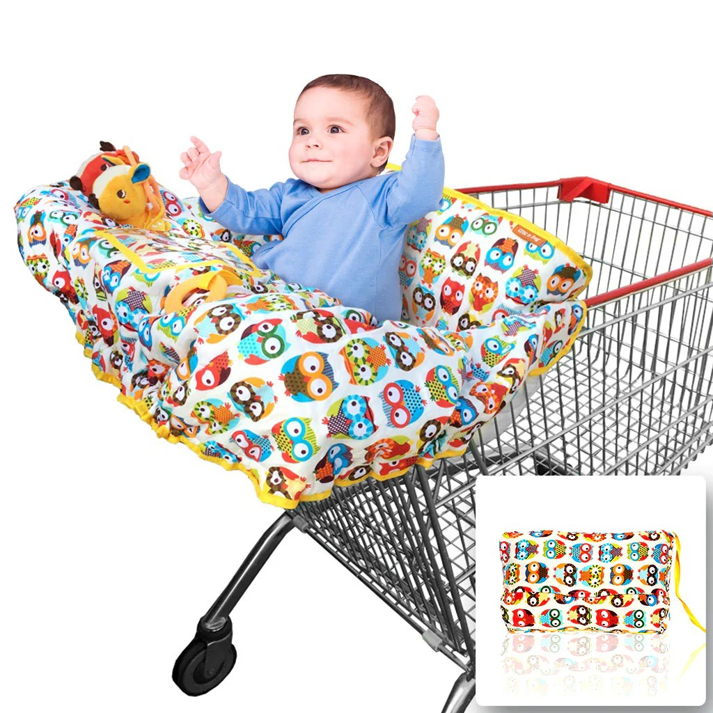 Baby High Chair Cover Baby Shopping Cart Cover 2 In 1 High Chair Cover Large
