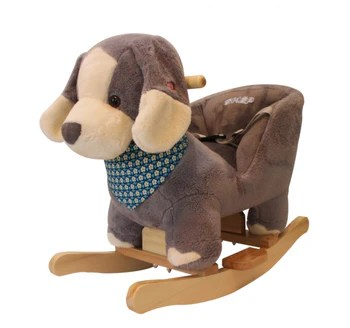 animal rocking chair used barber for sale newborn baby toys toddler 3 wheel scooter online skep doggie