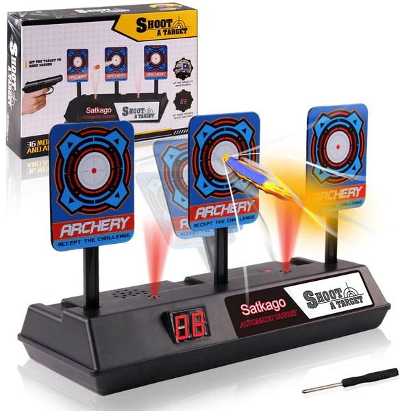 Satkago Auto Reset Electronic Shooting Scoring Target Toy