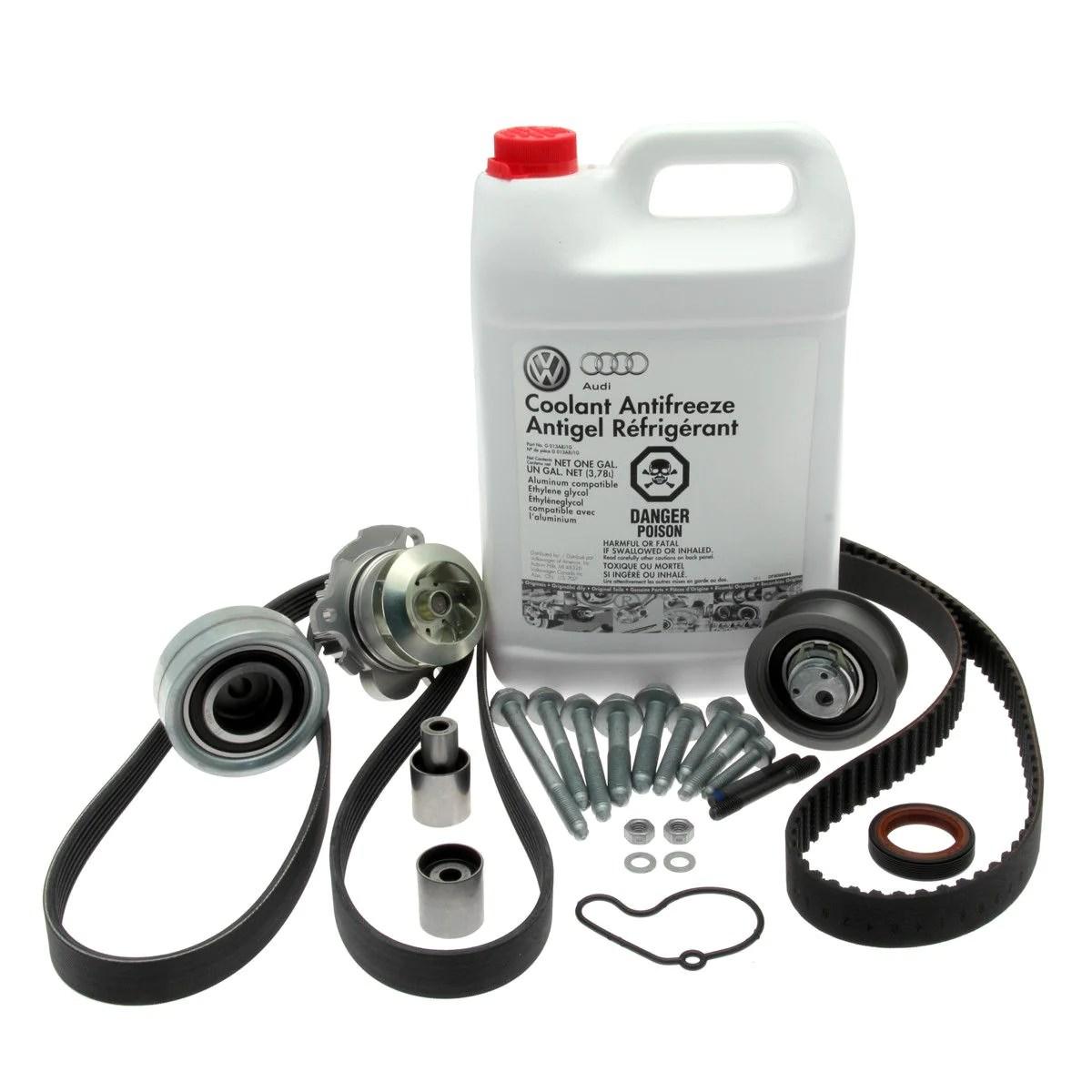 vw timing belt water pump replacement petrol engines [ 1200 x 1200 Pixel ]