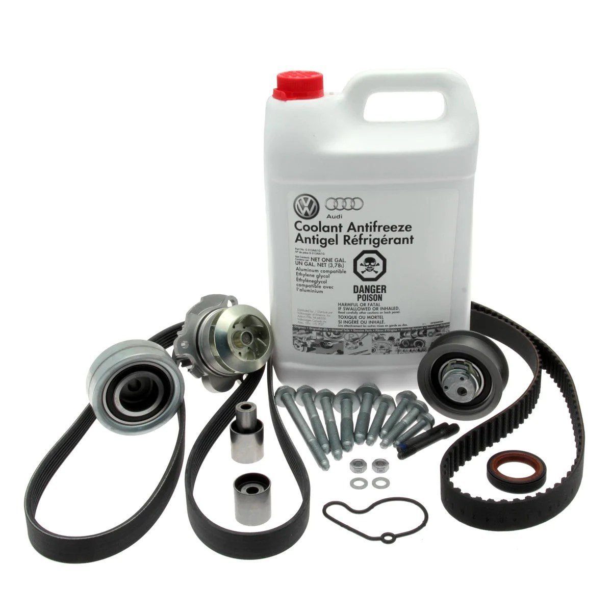 medium resolution of vw timing belt water pump replacement petrol engines