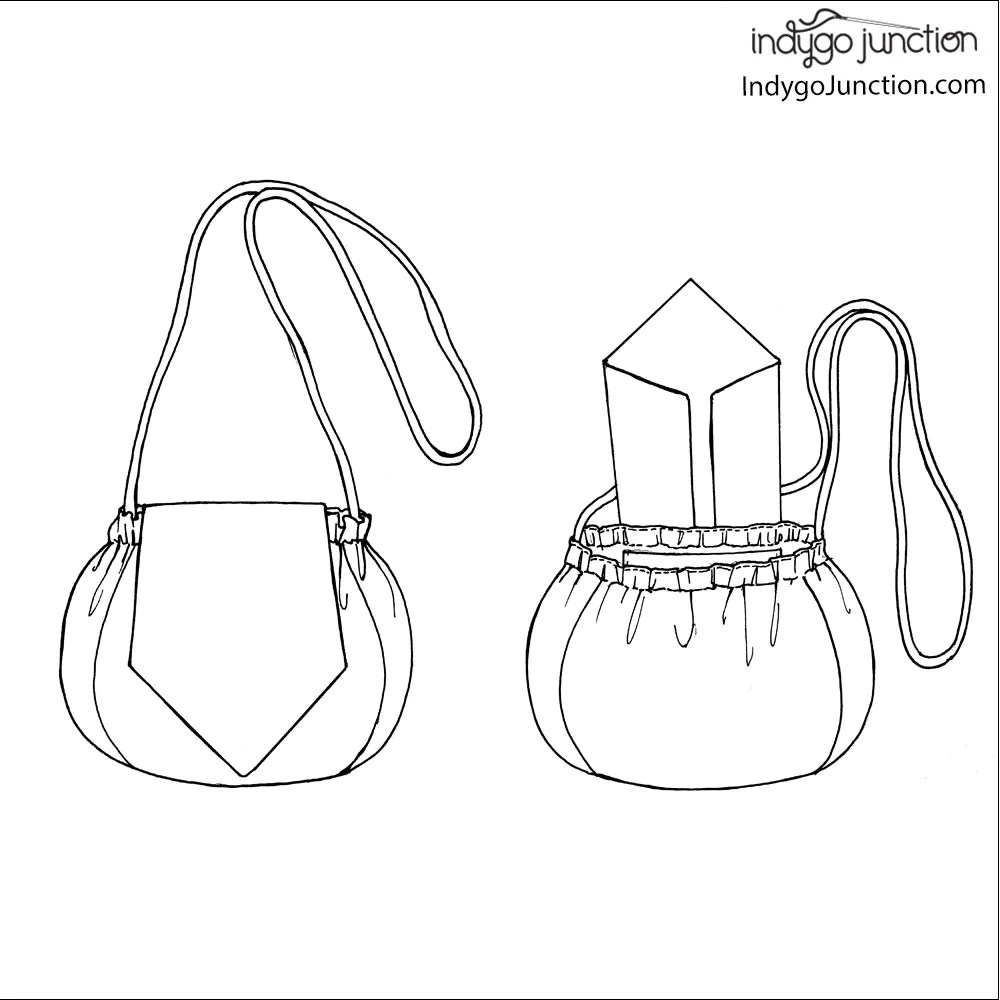medium resolution of recycled tie to go purse pattern