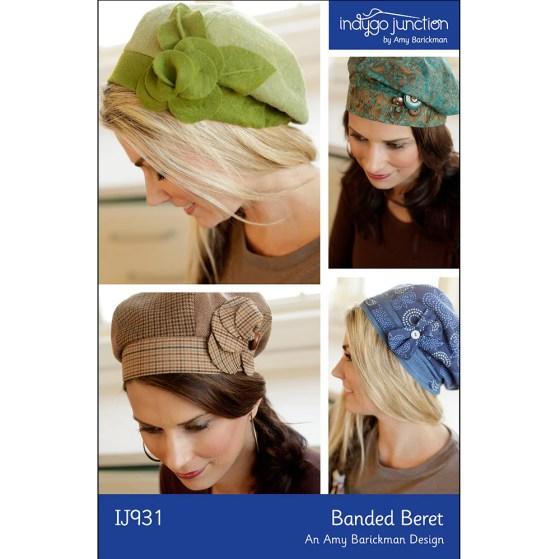 Banded Beret Hat Pattern