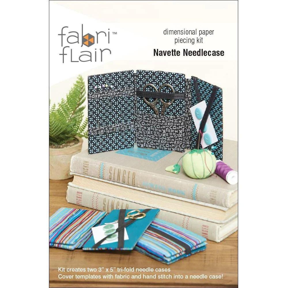 Navette Needlecase Fabriflair Kit