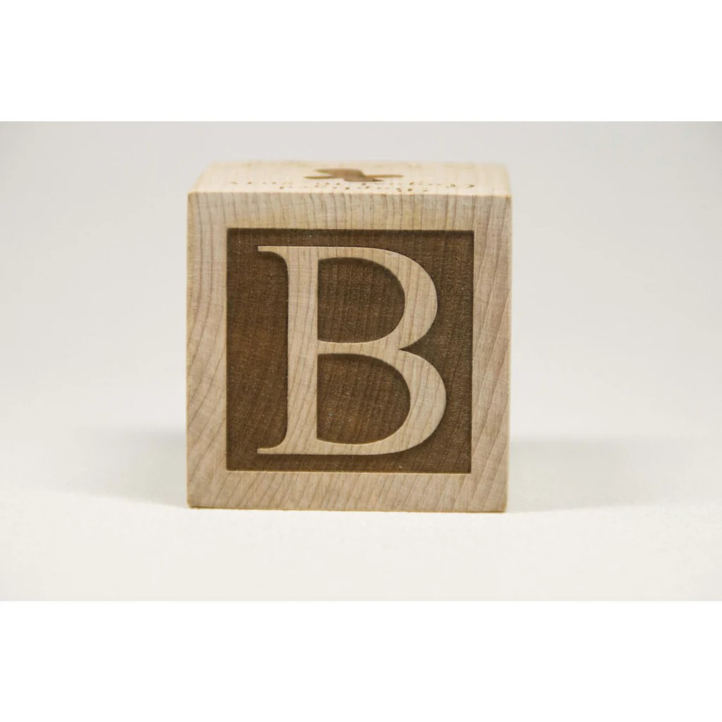 personalized wooden 2 baby