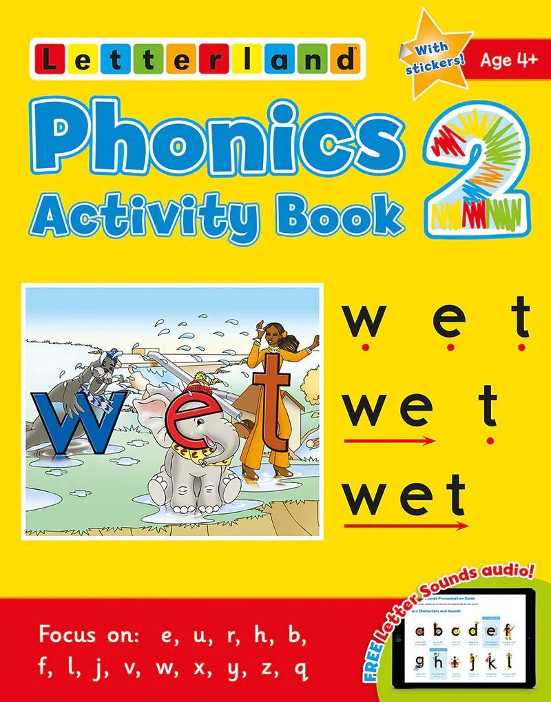 Phonics Activity Book 2  Letterland Canada