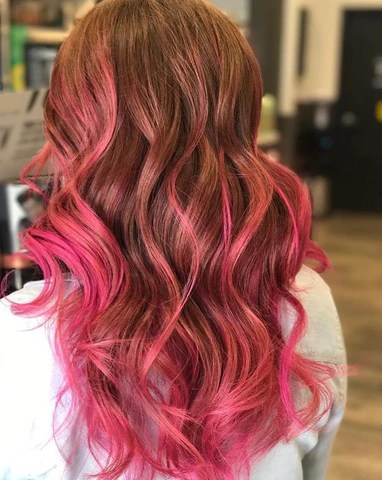 bubblegum pink hair inspo