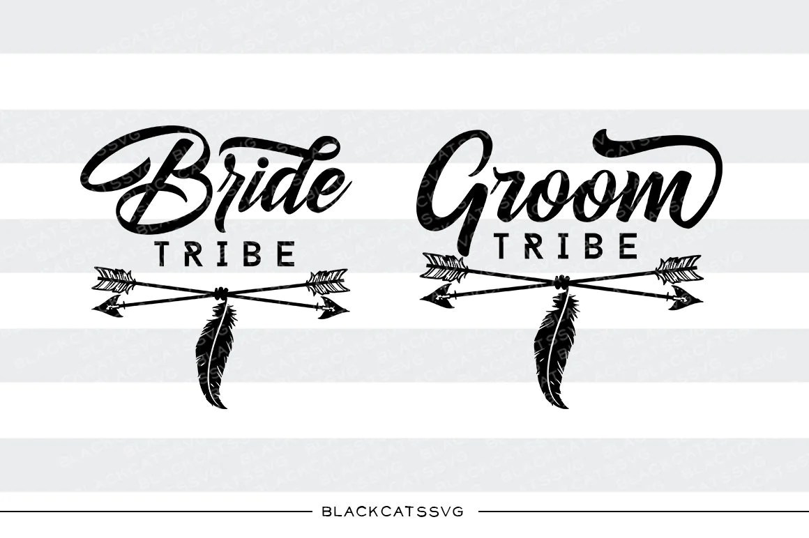 bride tribe groom tribe svg file cutting file clipart in svg eps dxf  [ 1160 x 772 Pixel ]