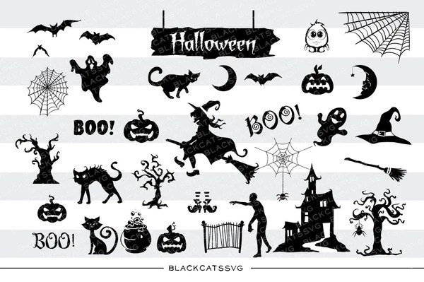 Download Big pack for Halloween - 31 SVG file Cutting File Clipart ...