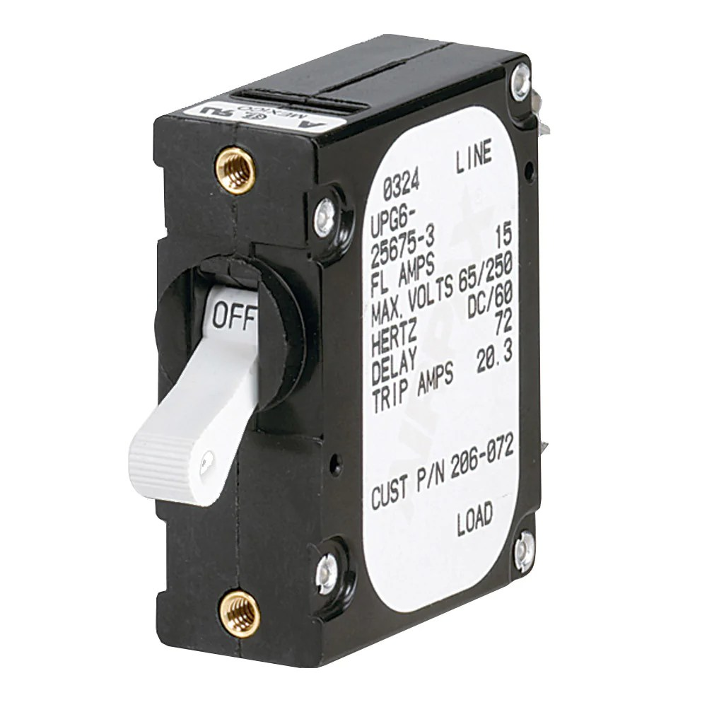 paneltronics a frame magnetic circuit breaker 10 amps single pole [ 1000 x 1000 Pixel ]