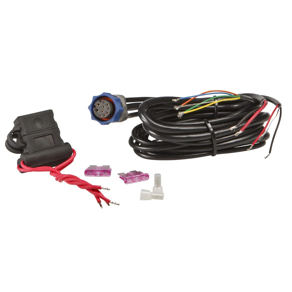 hight resolution of lowrance power cable w nmea