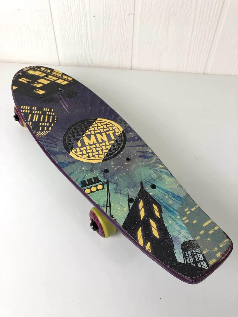 Nickelodeon Skateboard : nickelodeon, skateboard, Nickelodeon, Teenage, Mutant, Ninja, Turtles, Skateboard