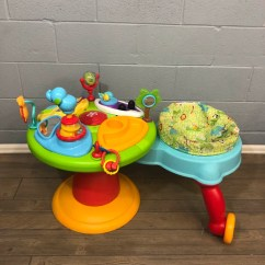 Revolving Chair For Baby Bedroom Silver Bright Starts Around We Go 3 In 1 Activity Center Good Buy Gear