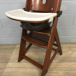 Keekaroo High Chair Large Club Chairs Tagged Brand Good Buy Gear Height Right With Infant Insert And Tray