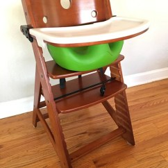 Keekaroo High Chair Folding Lawn Chairs With Infant Insert And Tray Good Buy Gear