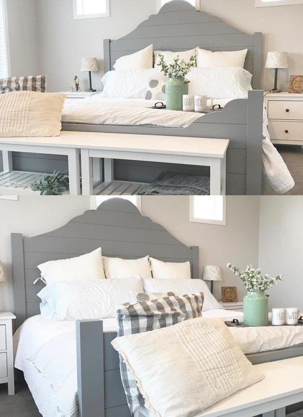 DIY Shiplap Bed Frame  Handmade Haven