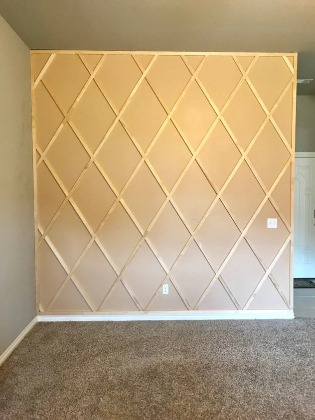 DIY Panel Wall 9 1024x1024 - DIY Paneled Wall
