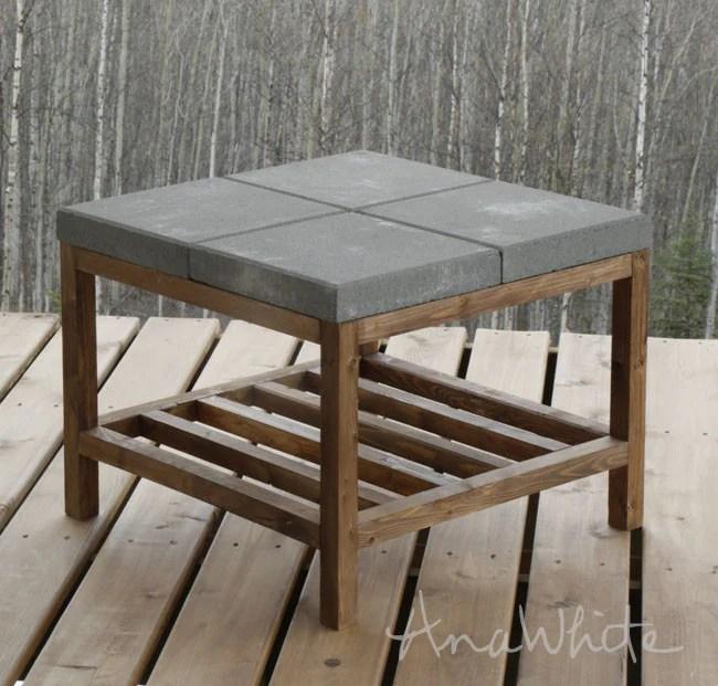 concrete 1024x1024 - DIY Coffee Table Round-Up