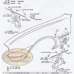 Vacuum Diagram For 1970 Chevelle Male Fetal Pig 1967 67 Camaro Factory Assembly Manual Z28 Ss Rs - 418 Pages! | Bowtiemuscleparts